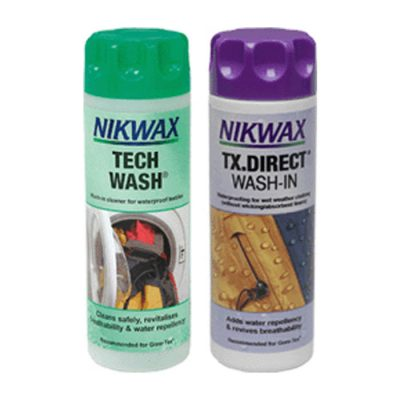 Nikwax Tech Wash u0026 TX Direct Wash In Twin Pack 300ML  sc 1 st  Bevan Caravan and C&ing Supplies : nikwax tent gear solarproof - memphite.com