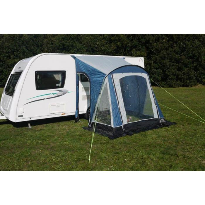 Sunncamp Swift 220 Porch Awning In Blue Lightweight