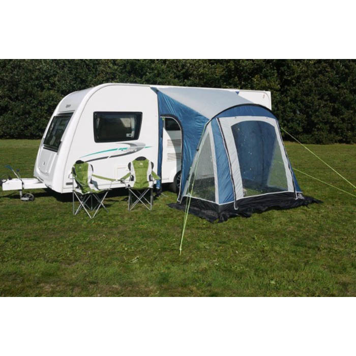 Portable Camper Awning : Sunncamp swift porch awning in blue lightweight