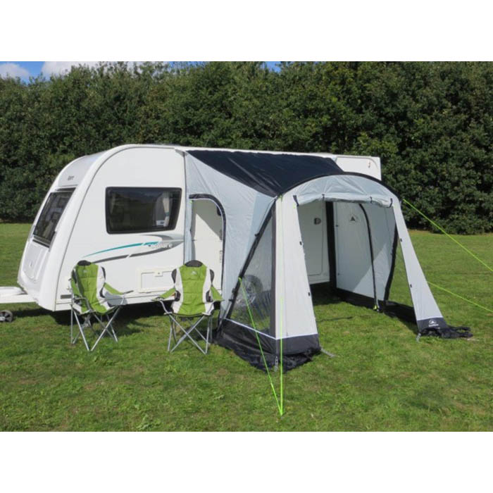 Sunncamp Swift 260 Porch awning in Grey,lightweight easy ...