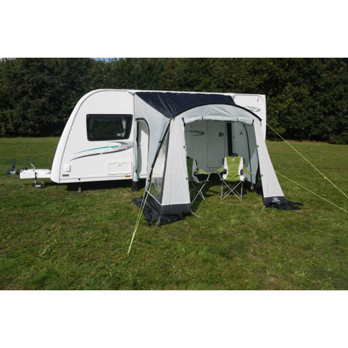 Sunncamp Swift 260 Porch Awning In Grey Lightweight Easy