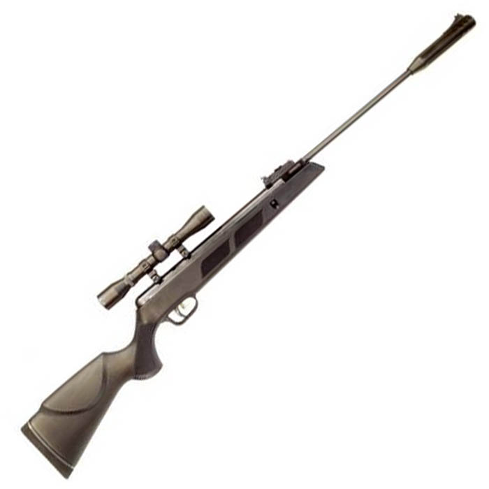 Artemis SR1000S Gas ram air rifle  22, complete with 4x32 scope & mounts